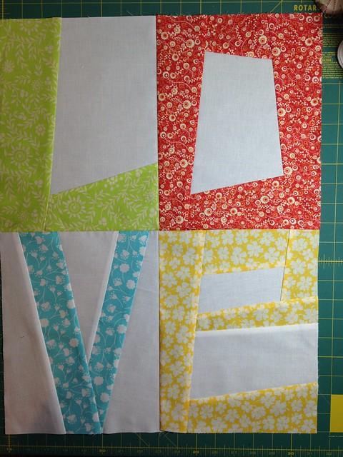 Baby Quilt #2 in progress