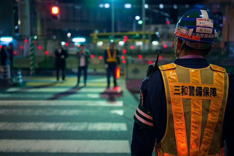 Japan // Night works