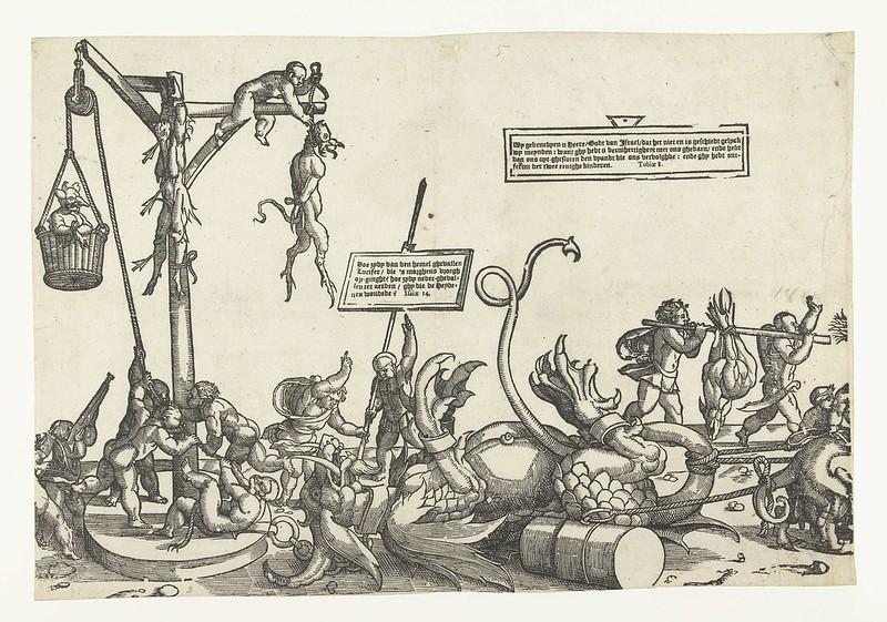 Monogrammist LIW - Children's Crusade (4) 1522 - 1532