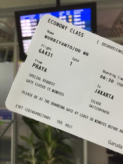 Garuda to Jakarta - 1