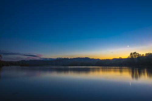 sunset lake mountains montagne lago nikon tramonto colorfull poland polska down nikkor polonia tatry d600 jezioro czorsztyn 2485mm longexposion imbrunire nikonflickraward