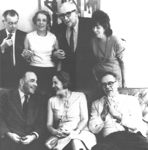 Hannah Arendt Mary McCarthy foto gruppo