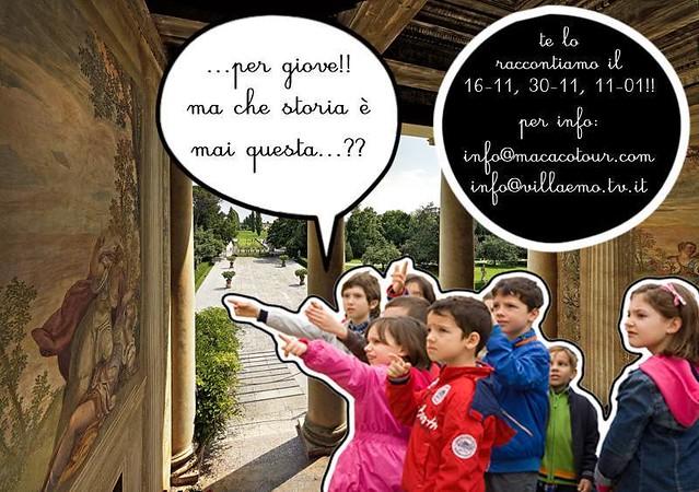 Macaco Tour a Villa Emo