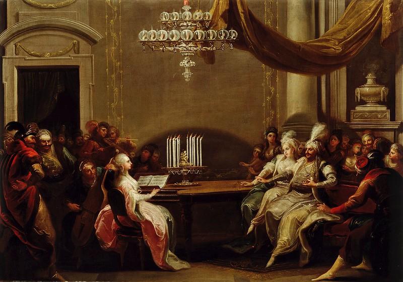 Johann Josef Karl Henrici - Koncert na orientalskem dvoru (1786)