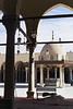 Egyptian man sleeping at Al Azhar Mosque