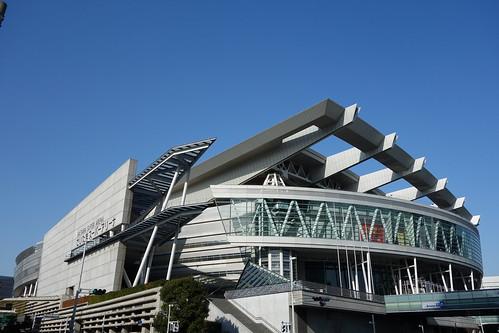 "Saitama Super Arena_4 さいたま新都心駅の ""さいたまスーパーアリーナ"" を撮影した写真"