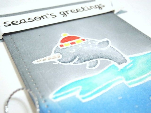 Season's Greetings Narwhal