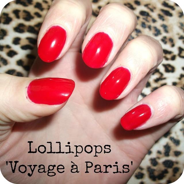 Lollipops Voyage à Paris NOTD
