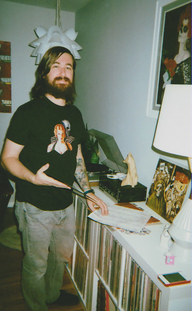 Eric with record
