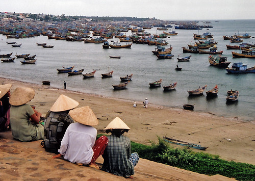 Mui Ne Fishing Village: Boats as Far as the Eye Can see