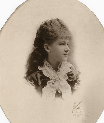 Original photo of Alice Ann Green from 1913