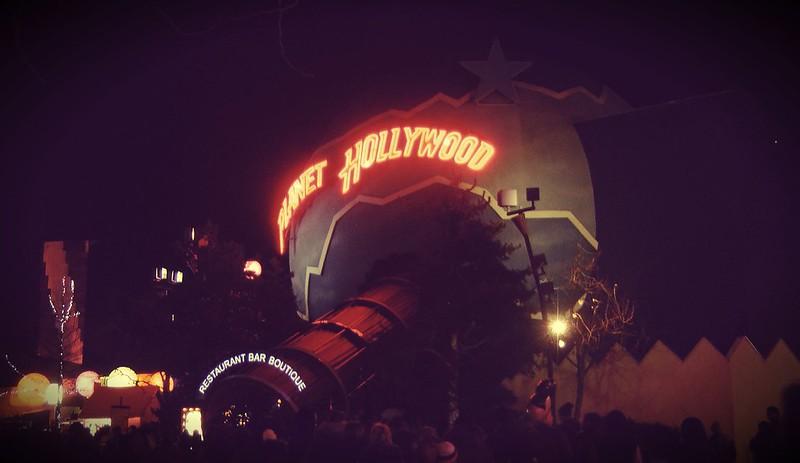 Disneyland by Night