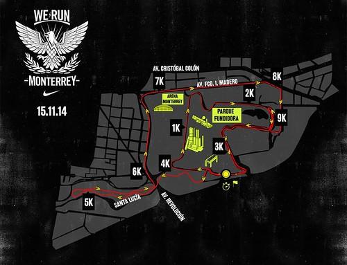 Ruta We Run Monterrey 2014