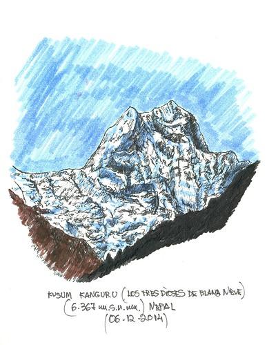 Kusum Kanguru (6.367 m.s.n.m.)