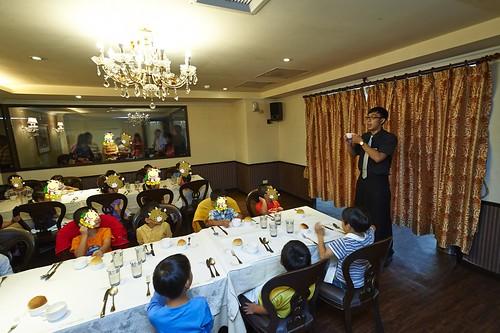 高雄新國際西餐廳 小朋友的西餐禮儀教學活動