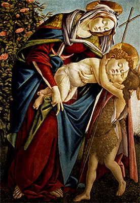 聖母子と洗礼者聖ヨハネ2
