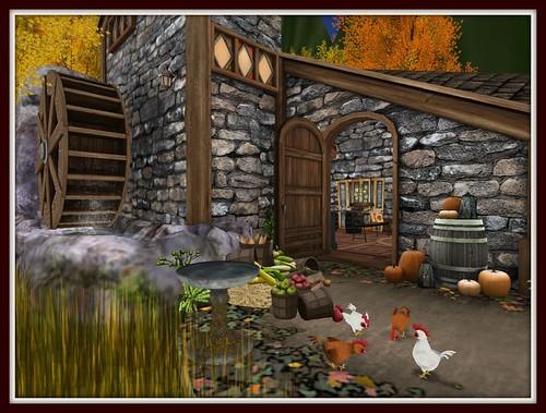 Fall's Cabin in the Woods | Front Door