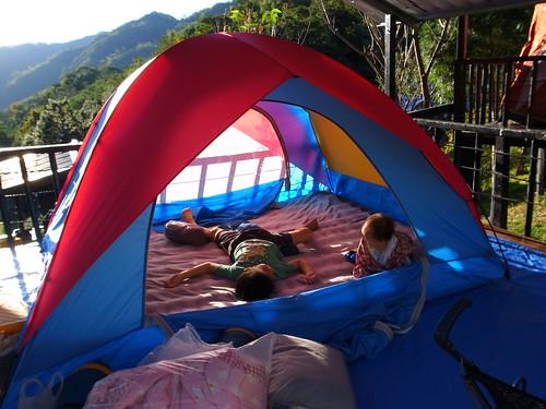 【親子露營7】尖石櫻花谷露營區
