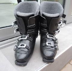 sjezdové boty - titulní fotka