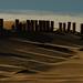 Fence on the dune - Tarifa, Spain