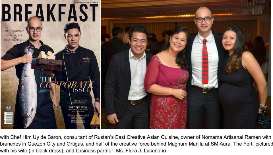 Dining with Hermes and Charriol at Rustan's Shangri-La Plaza Mall