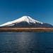 Winter sunny Fuji by shinichiro*