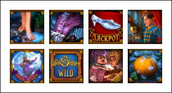 free The Glass Slipper slot game symbols