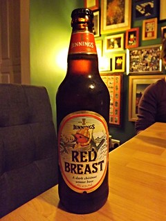 Jennings, Red Breast, England