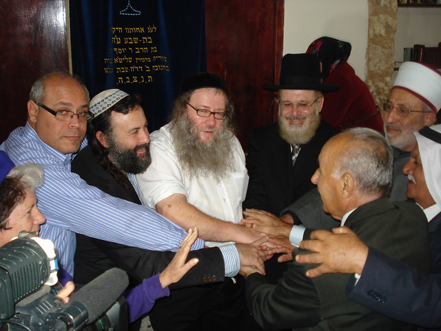 United for peace, synagogue of Shfar'am
