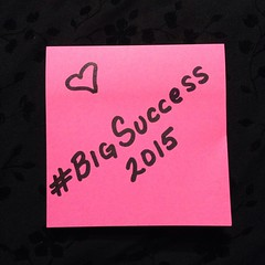 This is my word for 2015. What's yours? #2015 #goals #postit #mytinyempire