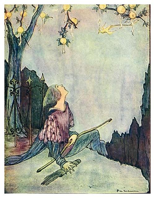 008- El pajaro de oro-Grimm's fairy tales-1927-Ilust. Rie Cramer