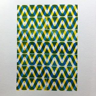 #woodtype borders #pattern