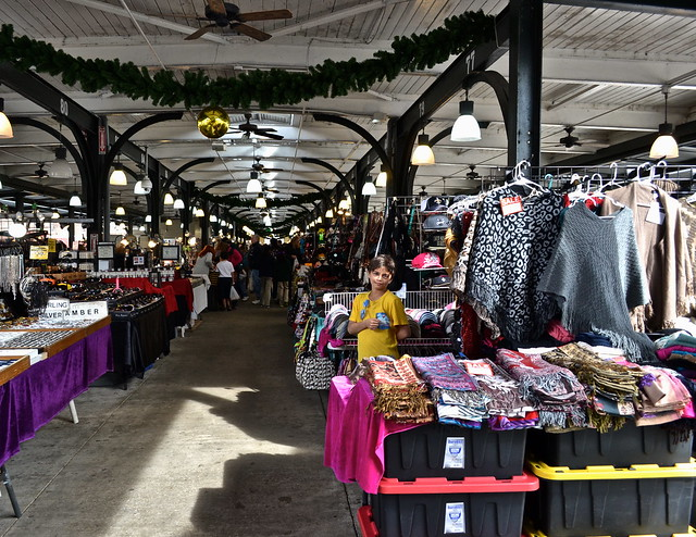 french market - vendors