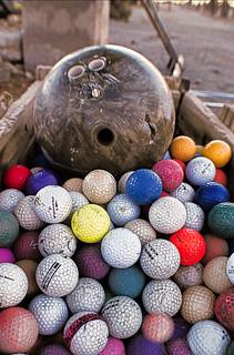 big ball with little balls