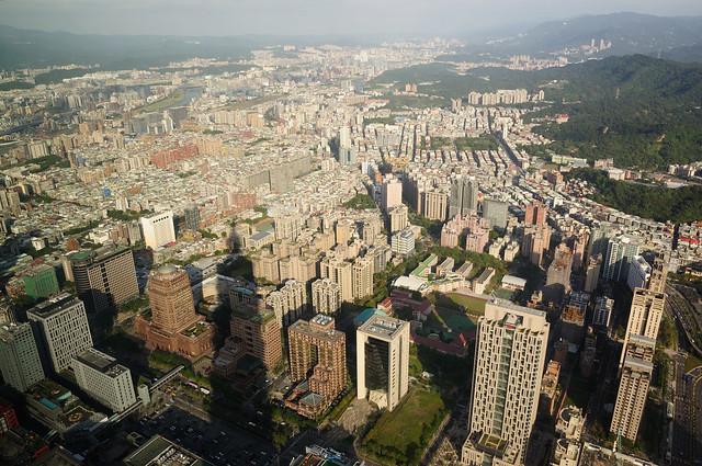台北101大樓觀景台