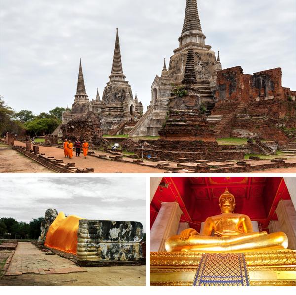Otros templos importantes que ver en Ayutthaya