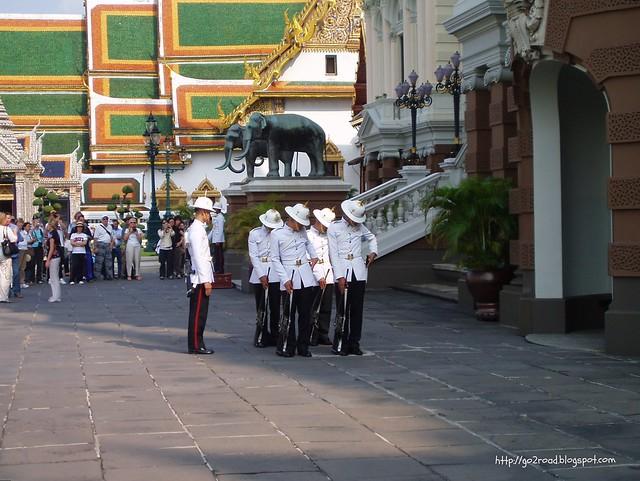 Тайланд,парадный караул