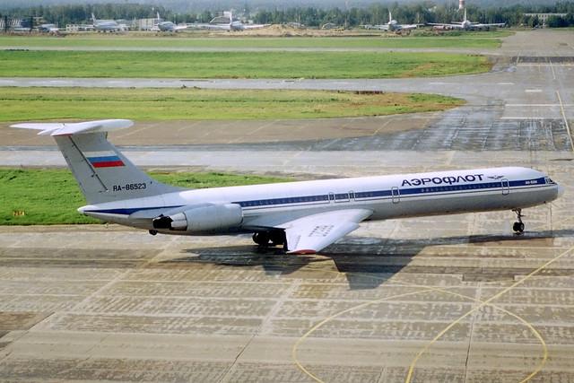 RA-86523 Aeroflot IL-62M Moscow-SVO 07/08/2000