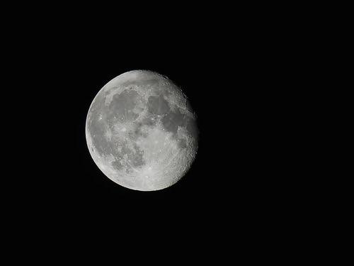 RAW - Canon SX60 HS -  - Moon, tonight - Canon PowerShot SX60 HS. Seen  On Explore January 9. 2015. #255.