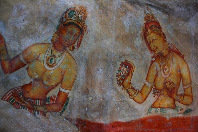 Sigiriya fresco paintings