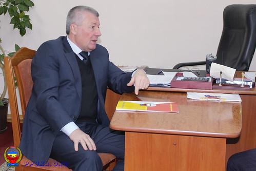 Встреча Председателя ППУ и Начальника главного управления пенсионного фонда Украины в Ивано-Франковской области (1)