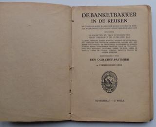 De Banketbakker in de Keuken baking book vintage