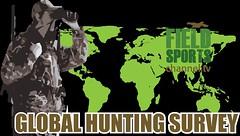 #globalhuntingsurvey