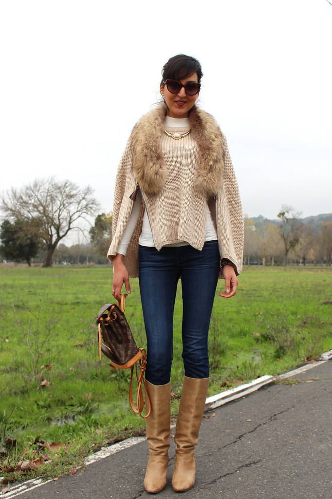 Layering with  Poncho or Cape 5