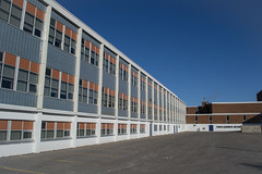 Classroom exteriors, Hillcrest high school