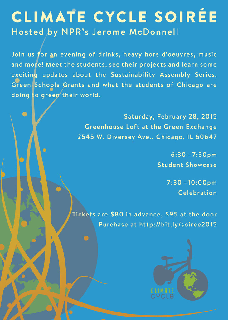 Climate Cycle Soirée 2015 @ Green Exchange | Chicago | Illinois | United States