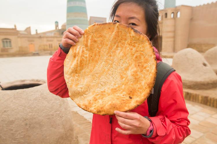 central asia bread