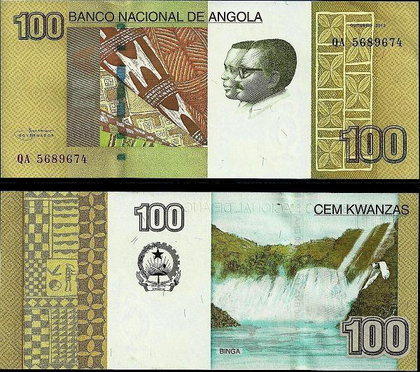 100 Kwanzas Angola 2012 (2013)