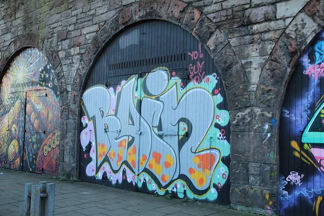Canongate graffiti walls