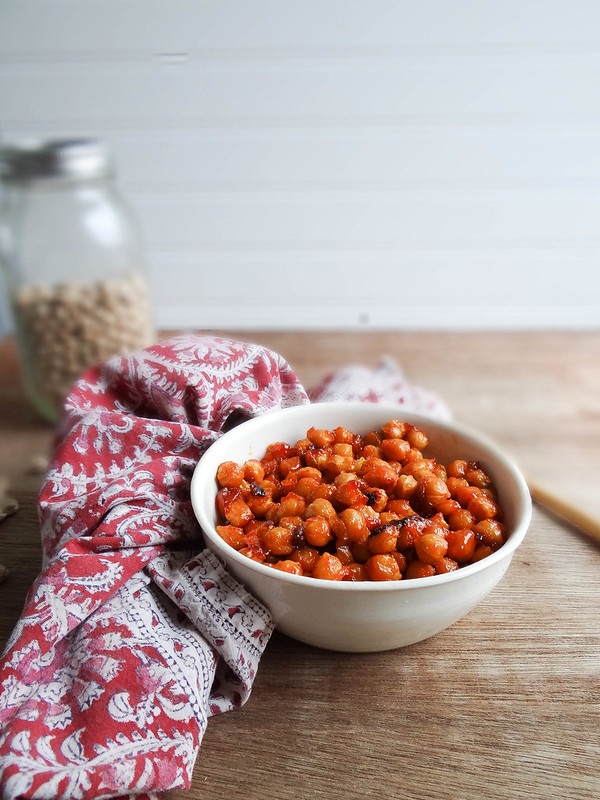Sweet + Spicy Chickpeas // SMBP